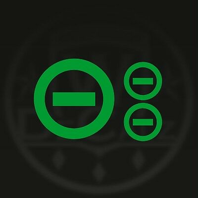 TON 2 VINYL DECAL TYPE O NEGATIVE  STICKER 666 DEATH METAL Peter Steele GEARS SS