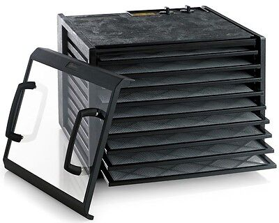 Excalibur 3926TCDB Clear Door 9 Tray Raw Food Dehydrator with Timer NEW  MODEL