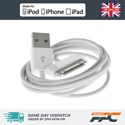1m OLD TYPE USB Charger Sync Data Cable Lead for iPhone iPad iPod Touch