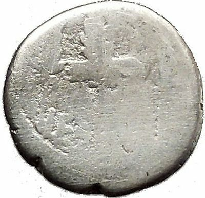 MARK ANTONY & CLEOPATRA Legion Ship Augustus Ancient Silver Roman Coin i39135
