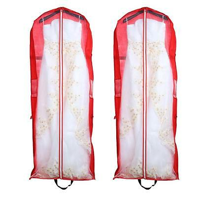 Wedding Prom Dress Gown Garment Storage Bag Cover Protector Dustproof Clothes