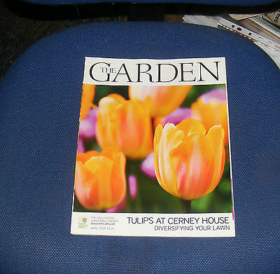 The Garden April 2009 - Tulips At Cerney House/diversifying Your Lawn