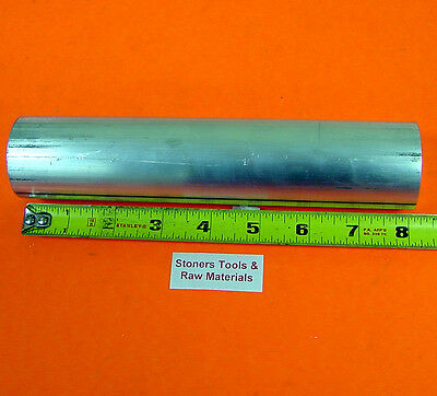 "1-1/2"" Aluminum 6061 Round Rod 8"" Long Solid T6511 Bar Stock 1.50"""