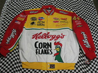 Terry Labonte Throwback Kellogg's Adult Jacket by JH Design! Size X-Large (XL)
