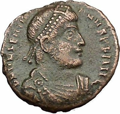 VALENTINIAN I 364AD Ancient Roman Coin Nike Victory Cult Angel  i39173