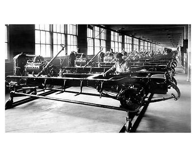 1924 Lincoln Chassis Workshop Factory Photo uc6523