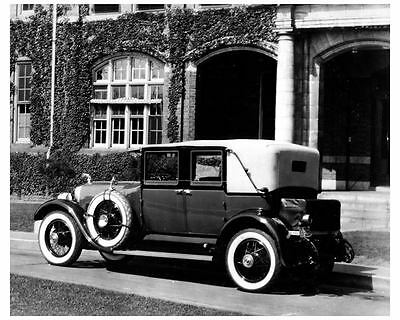 1924 1925 Lincoln Factory Photo uc6526
