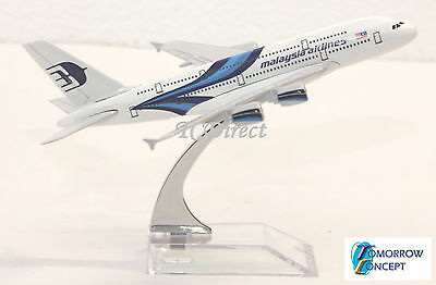 14cm 1:450 Malaysia Airline A380 Airplane Aeroplane Diecast Metal Plane Model