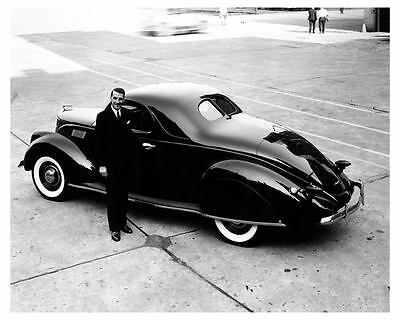 1937 Lincoln Zephyr Coupe Factory Photo uc6635
