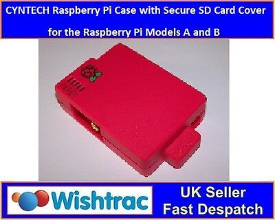 Raspberry Case by CYNTECH for the Raspberry Pi with SD CARD COVER - GPIO access