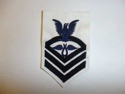 b3391 US Navy Rate 1921 - 1927 Aviation Rigger Chief Petty Officer white IR34A