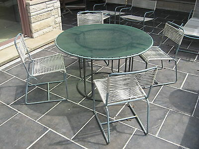 WALTER LAMB / BROWN JORDAN VINTAGE ORIGINAL BRONZE PATIO FURNITURE