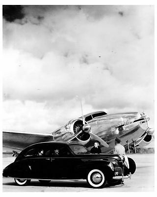 1938 Lincoln Zephyr Factory Photo uc6644