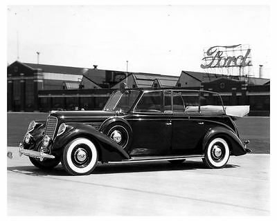 1939 Lincoln Factory Photo uc6661