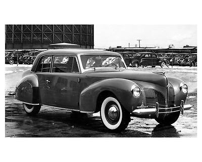 1940 Lincoln Continental Factory Photo uc6673