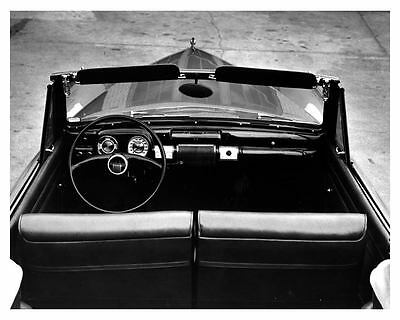 1940 Lincoln Continental Interior Factory Photo uc6674