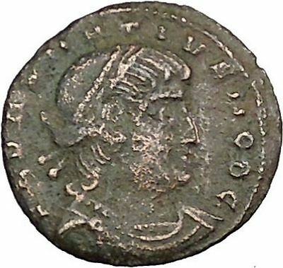 DELMATIUS Dalmatius 335AD Roman Caesar  Ancient Coin Soldiers Standards i39236