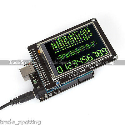 """SainSmart UNO R3 + 2.8"""" TFT LCD Touch Screen + TFT LCD Shield Kit For Arduino"""