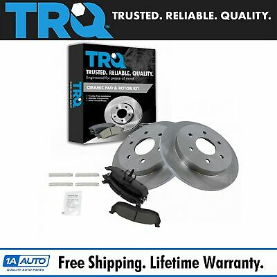 Nakamoto Front Ceramic Brake Pad /& Disc Rotor Kit Set for Saturn SC SL SW Series