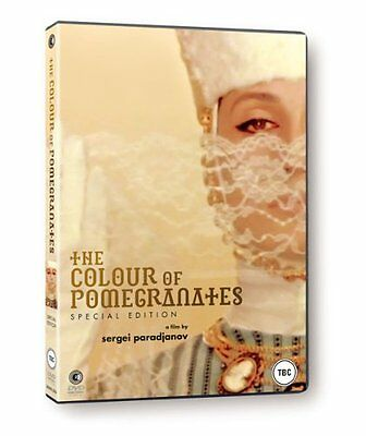 The Colour Of Pomegranates - DVD NEW SEALED Sofiko Chiaureli, Melkon Aleksanyan