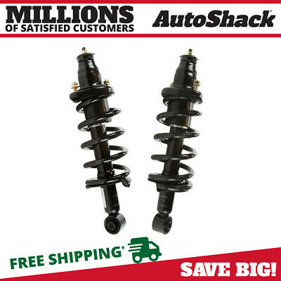 Pair (2) Rear Quick Install Complete Strut & Spring Assembly for 02-06 Honda CRV