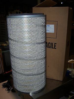 "New Midwesco Tdi Dust Collector Filter 10000001-Nl 25-3/4"" Tall X 8"" Id X 13"" Od"