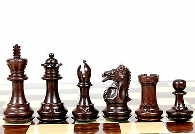 Wooden Chess Set Pieces Rose Wood Emperor Staunton Extra Queens House of Chess