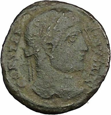 Constantine I the Great  324AD Ancient Roman Coin Wreath of  Success i39398