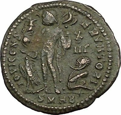 Licinius I Constantine The Great enemy 321AD Ancient Roman Coin Jupiter  i39399