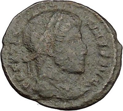 CONSTANTINE I the GREAT 320AD Ancient Roman Coin Wreath of success  i39414