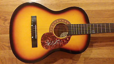 Lindsay Ell Trippin On Us Consider This Alone Olympics Signed Acoustic Guitar Ga