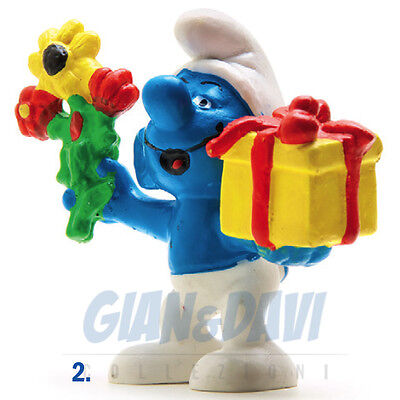 PUFFO PUFFI SMURF SMURFS SCHTROUMPF 2.0040 20040 Gift and flowers Regalo 2E