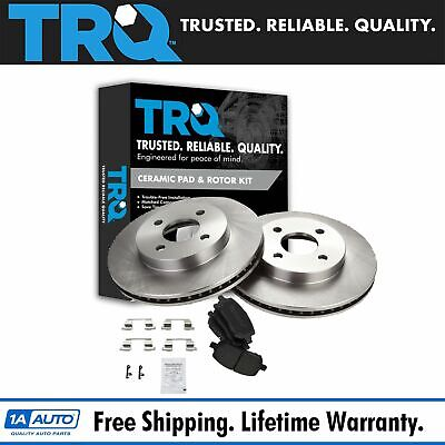 Nakamoto Front Ceramic Brake Pads & Rotors Kit Set for Chevy Cobalt G5 Ion 4 Lug