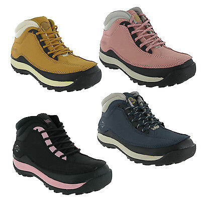Northwest Sovereign Leather Steel Toe Cap Safety Womens Work Lace Boots UK 4-8