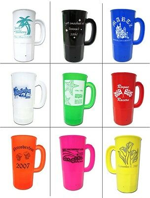 200 Custom Steins Mugs Personalized for your Business, Event, or Charity
