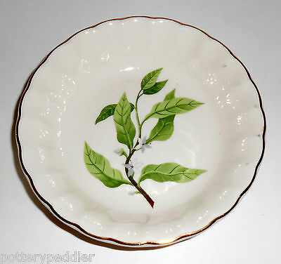 W. S. George Pottery China B8760 Floral Fruit Bowl! MINT