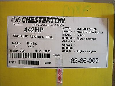 New Chesterton 442Hp Seal Kit Size-32 Shaft Size 4.000