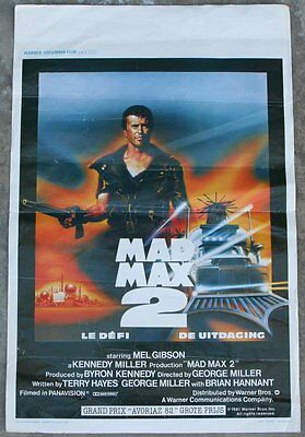Movie Poster~Mel Gibson~Mad Max 2 (1981) Road Warrior