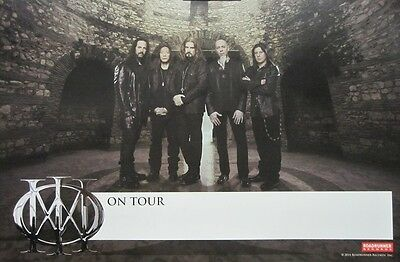 DREAM THEATER 2013 DREAM THEATER 2 sided promotional poster  ~MINT condition~!