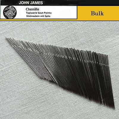 Bulk JOHN JAMES #24 Chenille Needles