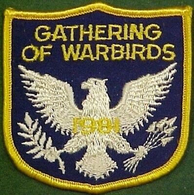 Confederate Air Force Gathering of War Birds 1981 Patch