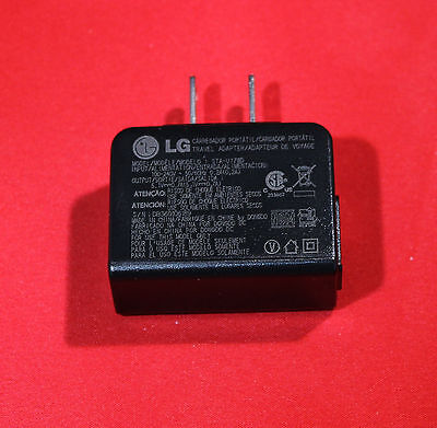 OEM Original LG Home House AC DC Travel Battery Charger Wall Adapter - STA-U17WT
