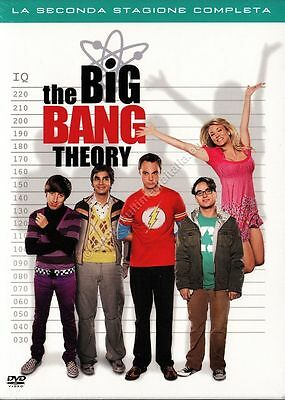 The Big Bang Theory Stagione 2 - Cofanetto 4 Dvd Nuovo!