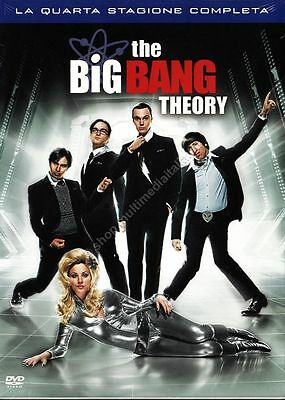 The Big Bang Theory Stagione 4 - Cofanetto 3 Dvd Nuovo!
