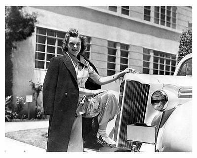 1939 Packard Six Factory Photo Judy Garland uc6907