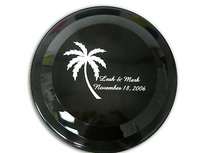 """45 9"""" FLYERS Personalized DISC Party Favors Advertising Giveaway Beach Wedding"""
