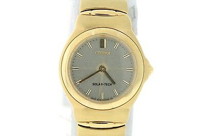 Ladies Citizen EP8092-59P Gold-Tone Stainless Steel Grey Dial Watch