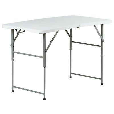 4Ft Folding Table Stall Market/fete/fair/art/camping/tradeshow Foldaway Car Boot
