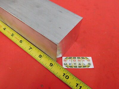 "2-1/2"" X 2-1/2"" ALUMINUM 6061 SQUARE BAR 9"" long Solid T6511 Mill Stock 2.5"