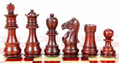 "3lbs+ Plastic Chess Set 4/"" King Triple Weighted Big Knight"
